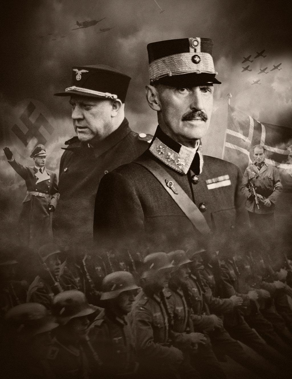 Krigens skjebner plakatbilde stående